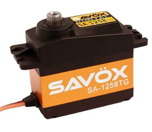 Savox Servo SA1258TG buggy high speed b6 associated losi