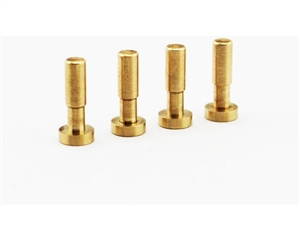 $2 OFF Hot Racing Brass Low friction King Pin for Yeti (4) YET04M04