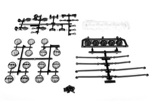 Axial Racing Universal 5 Bucket Light Bar Set AX30709