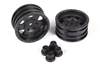 Axial Racing 1.9 Black Rock CRC Wheels - Black (2pcs) AX31094