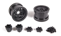 "Axial Racing 2.2 Walker Evans Wheels - IFDâ""¢ Wheels - Black(2pcs) AX31118"