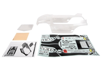 "Axial Racing Yeti Y-380 1/10th Scale Body - .040"" (Clear) AX31140"