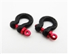 $4 OFF Hot Racing scale 1/10 scale look black tow shackles (2) ACC808X01  ACC808X02