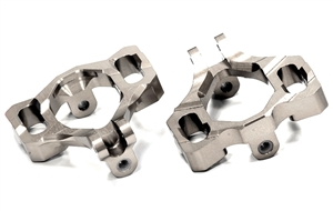 Integy Billet Machined Caster Block for HPI Savage X 4.6 2011, Flux & Savage XL T6719 (We carry in Silver or Grey)
