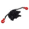 Yeah Racing1/10 RC Rock Crawler Accessories 96cm Long Chain and Hook Set black # YA-0357BK