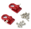 Yeah Racing 1/10 RC Rock Crawler Accessories Heavy Duty Shackle w/ Mounting Bracket Fit 3Racing CR01-27 Winch # YA-0358