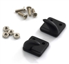Yeah Racing 1/10 RC Rock Crawler Accessories Bolt-on Hooks / off Centre Black or Red # YA-0379BK YA-0379RD